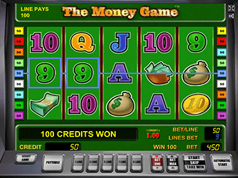В Вулкан Платинум The Money Game