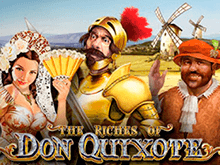 Гаминатор с фриспинами The Riches of Don Quixote